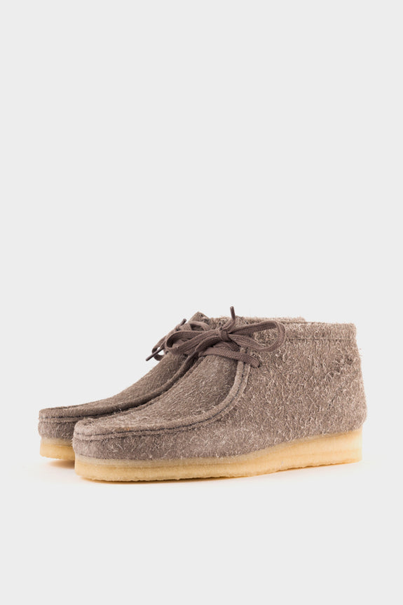 Clarks Originals Wallabee Boot Grey Interest