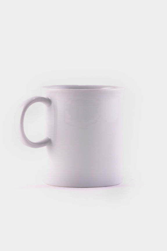 HAY Small White Porcelain Mug -