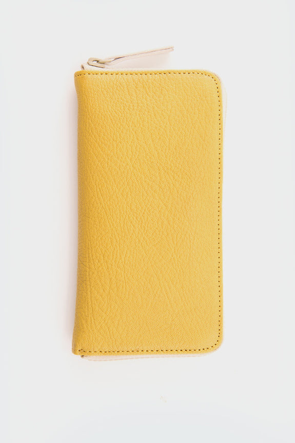 Ally Capellino Beth Zip Wallet: Yellow -  - 1