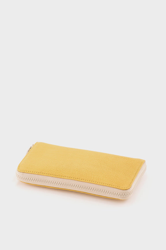 Ally Capellino Beth Zip Wallet: Yellow -  - 3