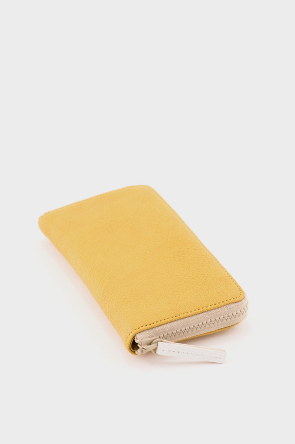 Ally Capellino Beth Zip Wallet: Yellow -  - 2