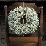 #HappinessIs Baby's Breath Wreath