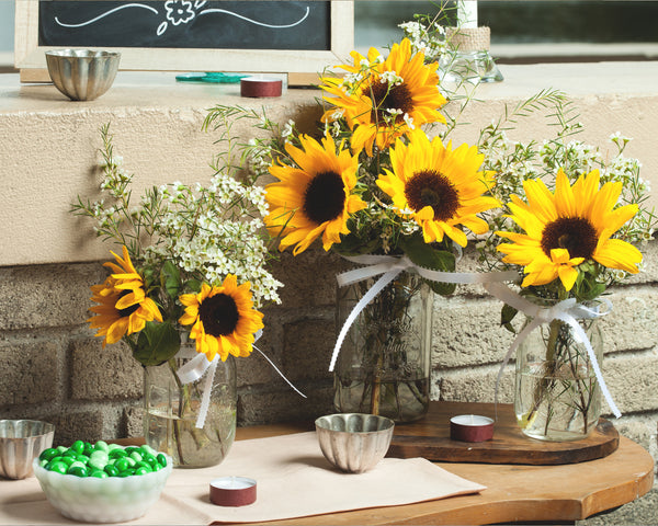 Youaremysunshine sunflower centerpiece it sbyu
