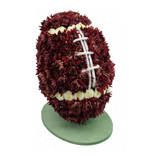 Football Centerpiece for Super Bowl Party