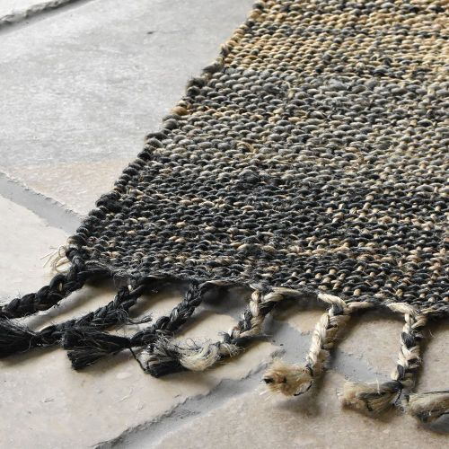 Sustainable Jute Rug Country Blues Runner