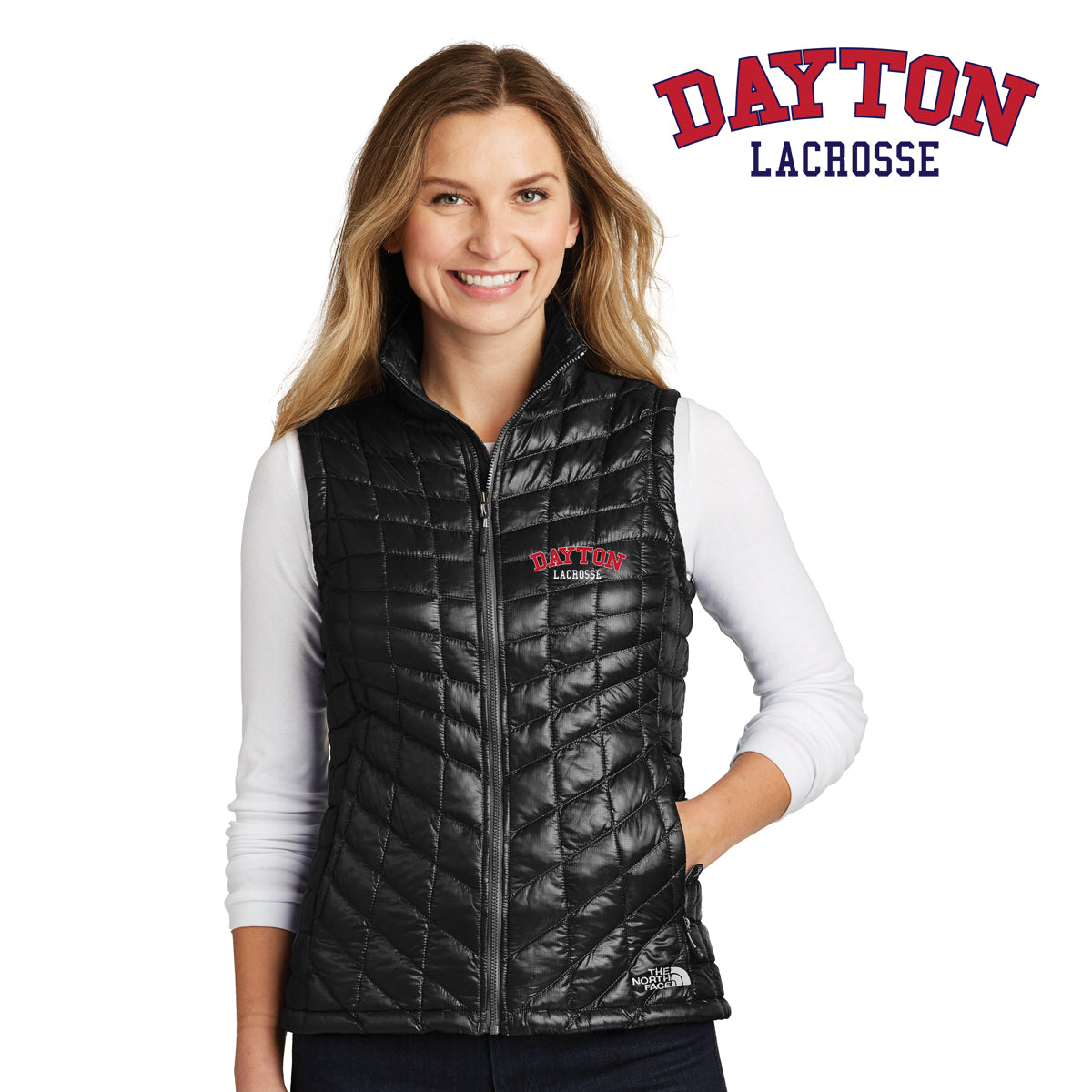 Dayton Lacrosse - The North Face® Ladies ThermoBall™ Trekker Vest ... 7e7c75d9c