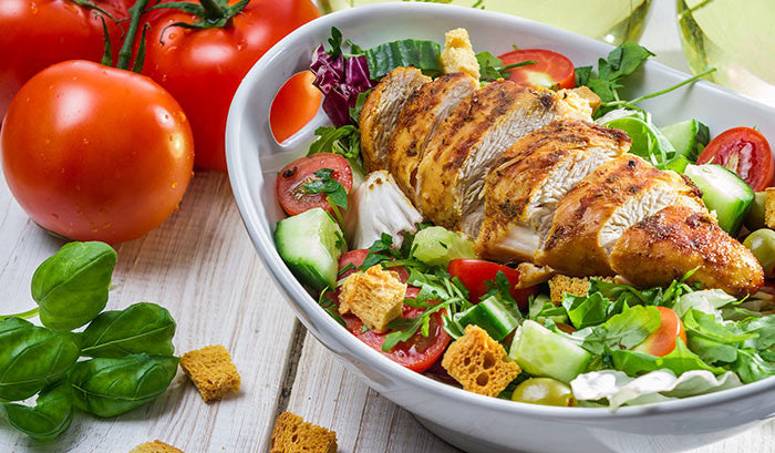 3 Fat Burning Grilled Chicken Salad Recipes