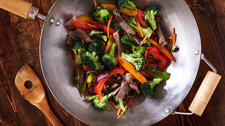 Orange Beef and Broccoli Stir Fry