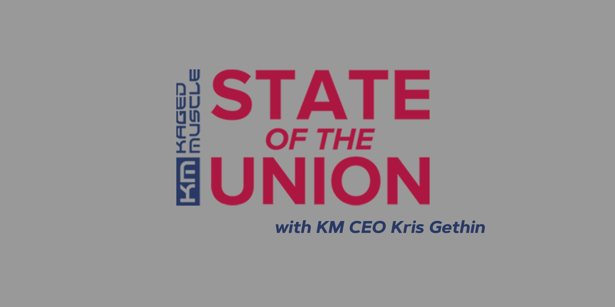 KM State of the Union | 10.30.2020