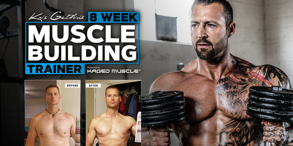 Kris Gethin Muscle-Buildign Trainer Transformation