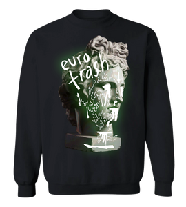 Euro Trash Glow-in-the-Dark Crewneck Jumper