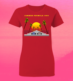 LADIES 8-Bit Stories Summer Formula 1989 T-Shirt