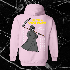 Ultra Violence Hoodie by palm-treat.myshopify.com for sale online now - the latest Vaporwave & Soft Grunge Clothing
