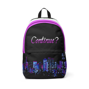 Continue? Backpack
