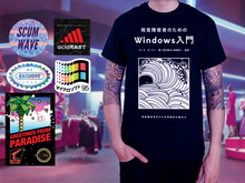 Load image into Gallery viewer, Windows Shirt Black Pack $40 FREE shipping