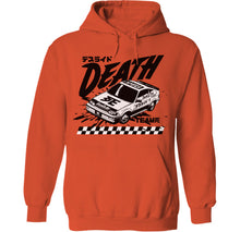Load image into Gallery viewer, Cyberpunk Death Race Hoodie by palm-treat.myshopify.com for sale online now - the latest Vaporwave & Soft Grunge Clothing