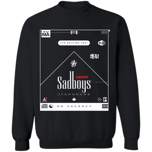 Smoker's Choice Crewneck Sweatshirt by palm-treat.myshopify.com for sale online now - the latest Vaporwave & Soft Grunge Clothing
