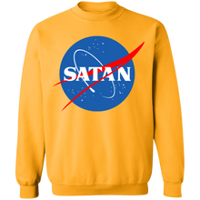 Load image into Gallery viewer, Satan Crewneck Sweatshirt by palm-treat.myshopify.com for sale online now - the latest Vaporwave & Soft Grunge Clothing