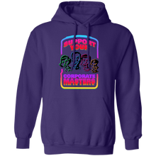 Load image into Gallery viewer, Support Your Corporate Masters Hoodie by palm-treat.myshopify.com for sale online now - the latest Vaporwave & Soft Grunge Clothing