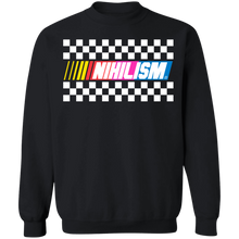 Load image into Gallery viewer, Nihilism Crewneck Sweatshirt by palm-treat.myshopify.com for sale online now - the latest Vaporwave & Soft Grunge Clothing