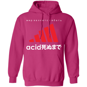 Acid White Hoodie by palm-treat.myshopify.com for sale online now - the latest Vaporwave & Soft Grunge Clothing
