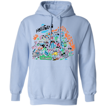 Load image into Gallery viewer, Hellifornia Hoodie by palm-treat.myshopify.com for sale online now - the latest Vaporwave & Soft Grunge Clothing