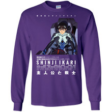 Load image into Gallery viewer, Shinji Long Sleeve T-Shirt