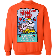 Load image into Gallery viewer, Cunt Crewneck Sweatshirt by palm-treat.myshopify.com for sale online now - the latest Vaporwave & Soft Grunge Clothing