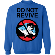 Load image into Gallery viewer, Do Not Revive Crewneck Sweatshirt by palm-treat.myshopify.com for sale online now - the latest Vaporwave & Soft Grunge Clothing