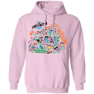 Hellifornia Hoodie by palm-treat.myshopify.com for sale online now - the latest Vaporwave & Soft Grunge Clothing