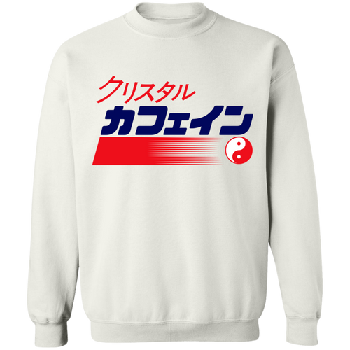 Crystal isded Crewneck Sweatshirt by palm-treat.myshopify.com for sale online now - the latest Vaporwave & Soft Grunge Clothing