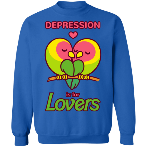 Depression is for Lovers Crewneck Jumper