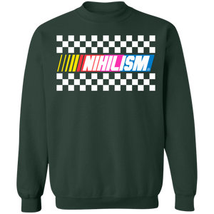 Nihilism Crewneck Sweatshirt by palm-treat.myshopify.com for sale online now - the latest Vaporwave & Soft Grunge Clothing