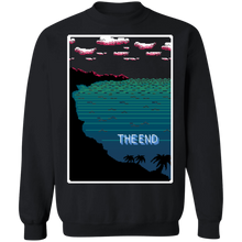 Load image into Gallery viewer, The End Crewneck Sweatshirt by palm-treat.myshopify.com for sale online now - the latest Vaporwave & Soft Grunge Clothing