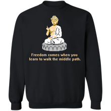 Load image into Gallery viewer, 8-bit Stories Special Freedom Crewneck Sweatshirt by palm-treat.myshopify.com for sale online now - the latest Vaporwave & Soft Grunge Clothing