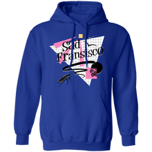 Load image into Gallery viewer, Sad Fransisco Hoodie by palm-treat.myshopify.com for sale online now - the latest Vaporwave & Soft Grunge Clothing