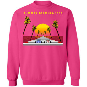 8-bit Stories 1989 Crewneck Sweatshirt by palm-treat.myshopify.com for sale online now - the latest Vaporwave & Soft Grunge Clothing