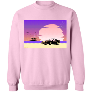 Pink Sunset by 8-Bit Stories by palm-treat.myshopify.com for sale online now - the latest Vaporwave & Soft Grunge Clothing