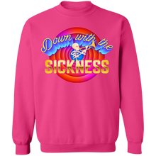 Load image into Gallery viewer, Down With the Sickness Crewneck Sweatshirt