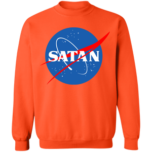 Satan Crewneck Sweatshirt by palm-treat.myshopify.com for sale online now - the latest Vaporwave & Soft Grunge Clothing