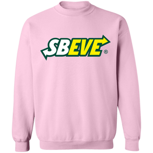 Sbeve Crewneck Sweatshirt by palm-treat.myshopify.com for sale online now - the latest Vaporwave & Soft Grunge Clothing