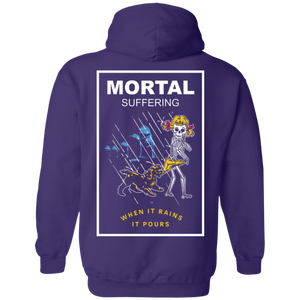 Mortal Suffering Back Print Only Hoodie