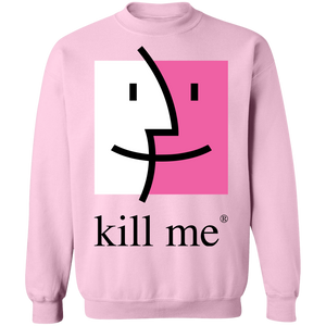 Kill Me Finder Crewneck Sweatshirt by palm-treat.myshopify.com for sale online now - the latest Vaporwave & Soft Grunge Clothing