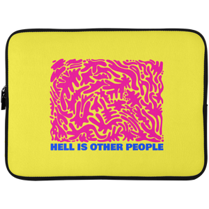 Hell is Other People Laptop Sleeve - 15 Inch