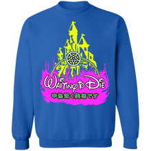 Load image into Gallery viewer, Waiting 2.0 Crewneck Sweatshirt by palm-treat.myshopify.com for sale online now - the latest Vaporwave & Soft Grunge Clothing