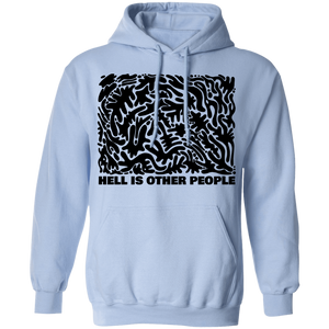 Hell is Other People Hoodie by palm-treat.myshopify.com for sale online now - the latest Vaporwave & Soft Grunge Clothing