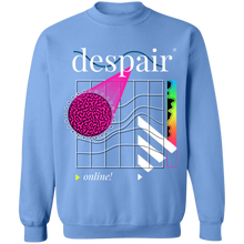 Load image into Gallery viewer, Despair Online Crewneck Sweatshirt by palm-treat.myshopify.com for sale online now - the latest Vaporwave & Soft Grunge Clothing