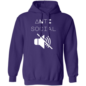 Anti Social Hoodie by palm-treat.myshopify.com for sale online now - the latest Vaporwave & Soft Grunge Clothing