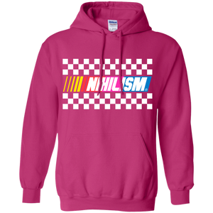 nihilist dont care sarcastic hoodie by palm treat