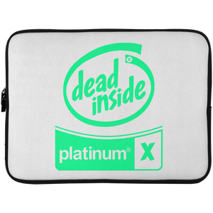 Dead Inside Laptop Sleeve - 15 Inch